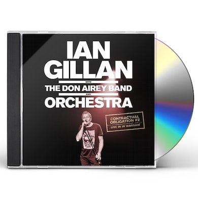 Ian Gillan Contractual Obligation #2: Live In Warsaw CD