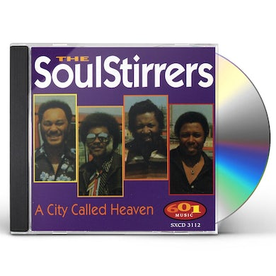 Soul Stirrers CITY CALLED HEAVEN CD