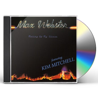 Max Webster MUTINY UP MY SLEEVE CD