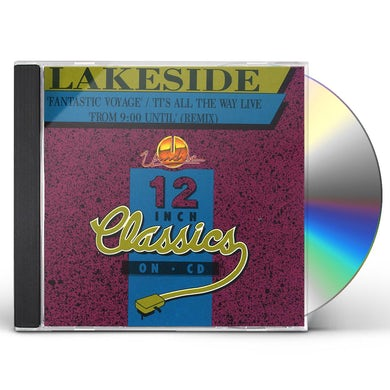 Lakeside FANTASTIC VOYAGE/ITS ALL THE WAY LIVE CD