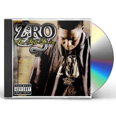 Z-Ro STILL LIVING CD