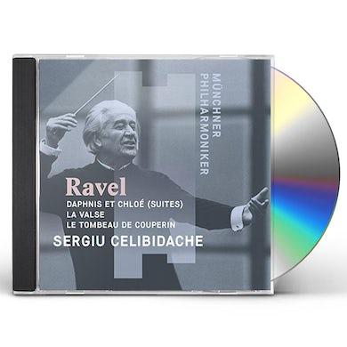 Sergiu Celibidache MAURICE RAVEL: DAPHNIS ET CHLOE (SUITES) LA VALSE CD