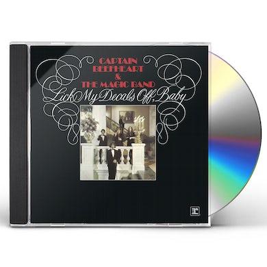 Captain Beefheart LICK MY DECALS OFF BABY CD