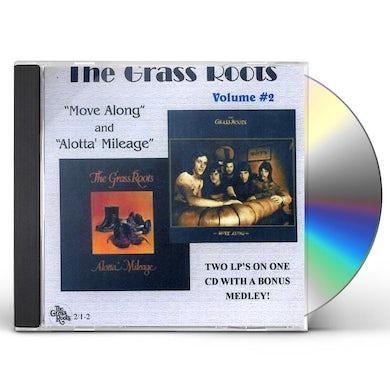 Grass Roots MOVE ALONG / ALOTTA MILEAGE 2 CD