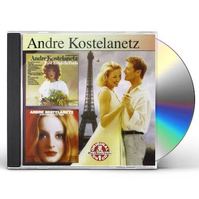 Andre Kostelanetz LAST TANGO IN PARIS / PLAYS GREATEST HITS CD