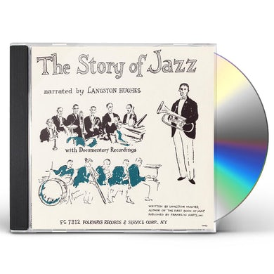 Langston Hughes THE STORY OF JAZZ CD
