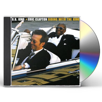 Eric Clapton / B.B. King RIDING WITH THE KING CD