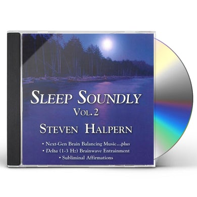 Steven Halpern SLEEP SOUNDLY 2 CD