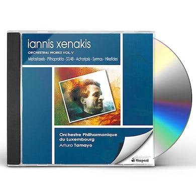 Iannis Xenakis METASTASEIS PITHOPRAKA ST/48 ACH CD