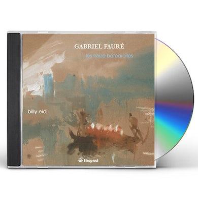Faure BARCAROLLES CD