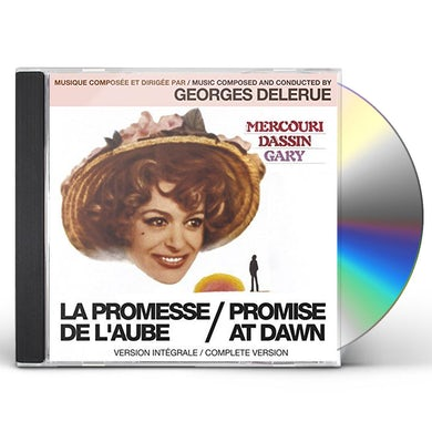 Georges Delerue LA PROMESSE DE L'AUBE / PROMISE AT DAWN CD