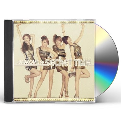 WELCOME TO SECRET TIME CD