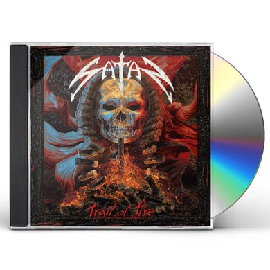 Satan TRAIL OF FIRE-LIVE IN NORTH AMERICA CD