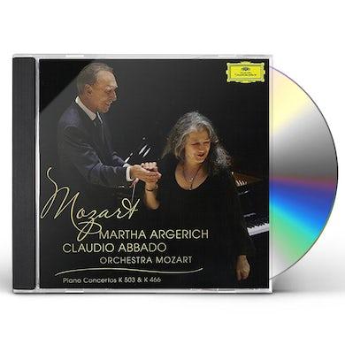 Martha Argerich MOZART: PIANO CONCERTOS NOS. 20 & 25 CD