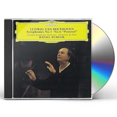 Rafael Kubelik BEETHOVEN: SYMPHONIES NOS. 1 & 6 CD