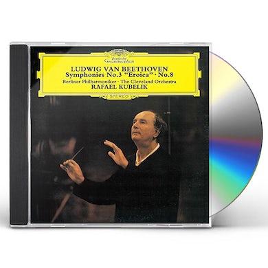 Rafael Kubelik BEETHOVEN: SYMPHONIES NOS. 3 EROICA CD