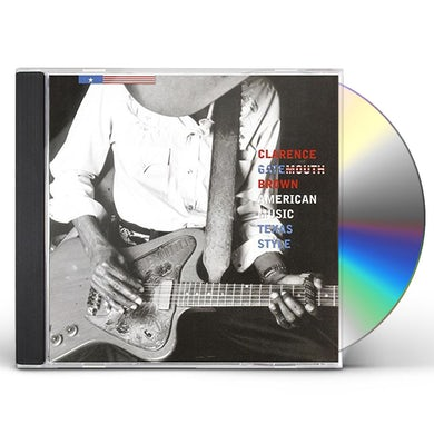 Clarence Gatemouth Brown AMERICAN MUSIC TEXAS STYLE CD
