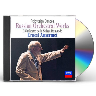 Ernest Ansermet RUSSIAN ORCHESTRAL WORKS CD