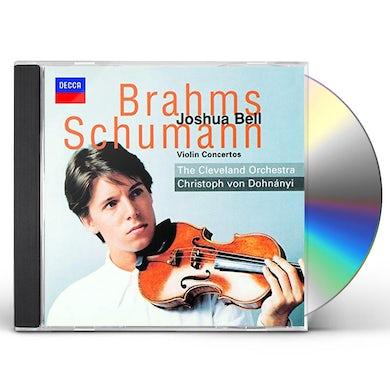 Joshua Bell BRAHMS & SCHUMANN: VIOLIN CONCERTOS CD