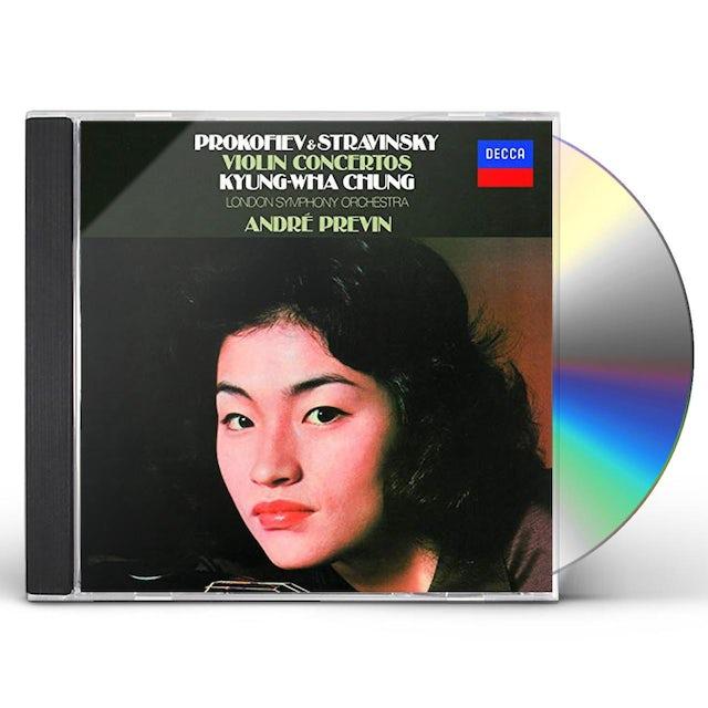 Chung Kyung-Wha PROKOFIEV & STRAVINSKY: VIOLIN CONCERTOS CD