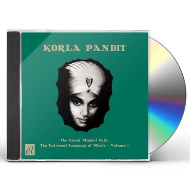 Korla Pandit GRAND MOGHUL / UNIVERSAL LANGUAGE OF MUSIC CD