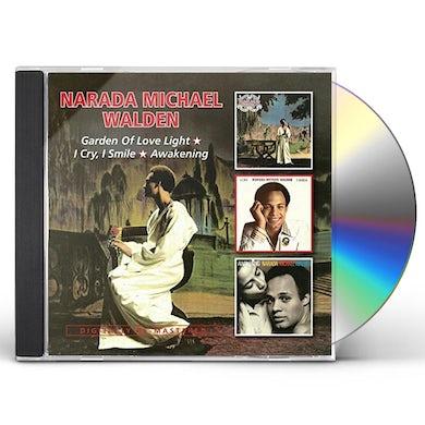 Narada Michael Walden GARDEN OF LOVE LIGHT/I CRY, I SMILEAWAKENING CD