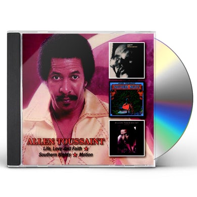 Allen Toussaint LIFE LOVE & FAITH /SOUTHERN NIGHTS/MOTION CD