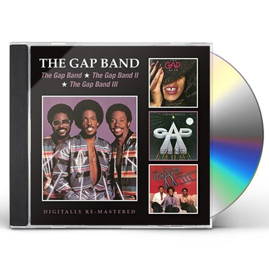Gap Band I II & III CD