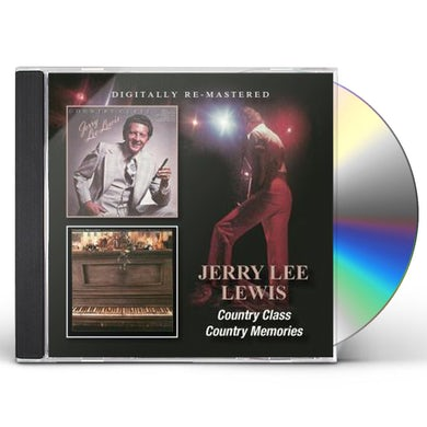 Jerry Lee Lewis COUNTRY CLASS/COUNTRY MEMORIES CD