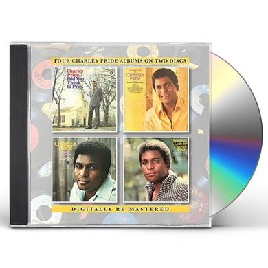 Charley Pride DID YOU THINK TO PRAY /SUNSHINY DAY WITH CHARLEY CD