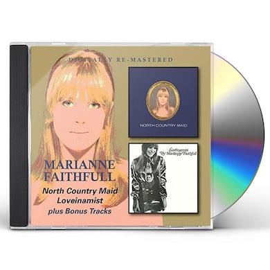 Marianne Faithfull NORTH COUNTRY MAID/LOVEINAMIST CD