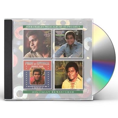 Charley Pride AMAZING LOVE / PRIDE OF AMERICA / CHARLEY CD