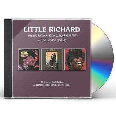 Little Richard  THRILL THING/KING OF ROCK & ROLL/SECOND COMING CD