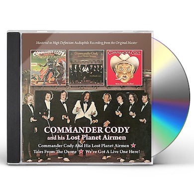 Commander Cody & His Lost Planet Airmen & HIS LOST PLANET AIRMEN/TALES FROM OZONE / WE'VE CD