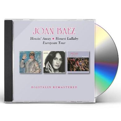 Joan Baez BLOWIN AWAY / HONEST LULLABY / EUROPEAN TOUR CD