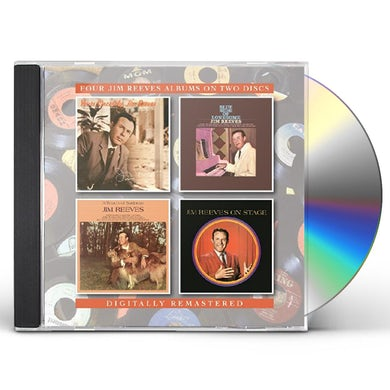 YOURS SINCERELY JIM REEVES / BLUE SIDE OF LONESOME CD