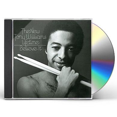 Tony Williams BELIEVE IT / MILLION DOLLAR LEGS / JOY OF FLYING CD