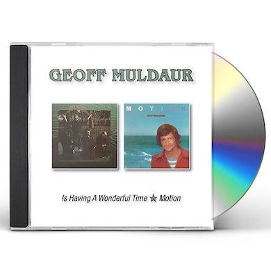 Geoff Muldaur IS HAVING A WONDERFUL TIME/MOTION CD