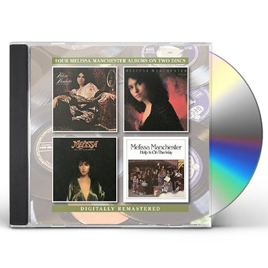 Melissa Manchester HOME TO MYSELF /BRIGHT EYES/MELISSA/HELP IS ON THE CD
