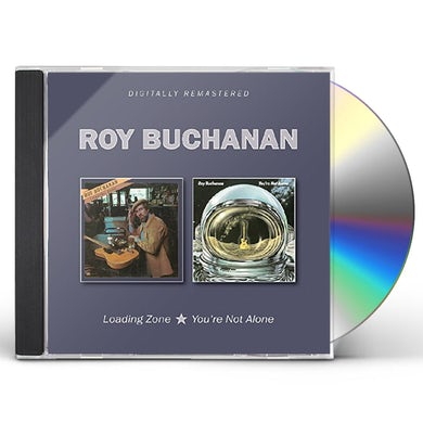 Roy Buchanan LOADING ZONE / YOU'RE NOT ALONE CD