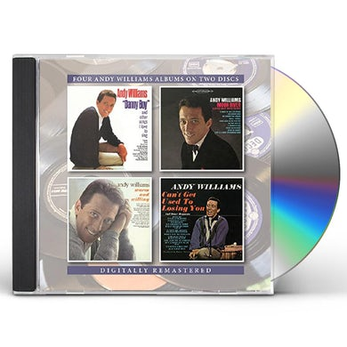 Andy Williams DANNY BOY & OTHER SONGS I LOVE TO SING / MOON CD