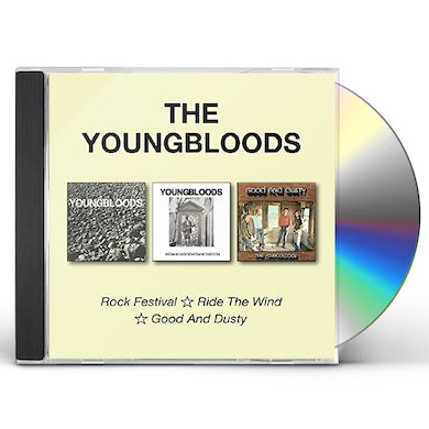 The Youngbloods ROCK FESTIVAL / RIDE THE WIND / GOOD & DUSTY CD