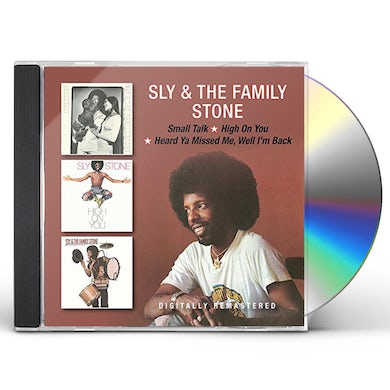 Sly & The Family Stone SMALL TALK / HIGH ON YOU / HEARD YA MISSED ME CD