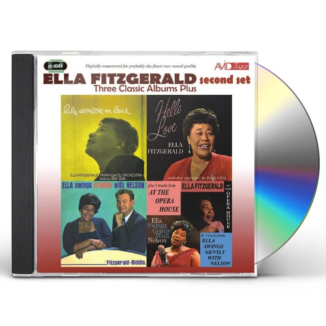 Ella Fitzgerald LIKE SOMEONE IN LOVE / HELLO LOVE / SWINGS CD