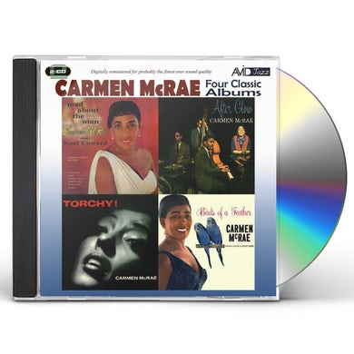 Carmen McRae 4 LPS-TORCHY / AFTERGLOW / MAD ABOUT MAN / BIRDS CD