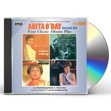 Anita O'Day 4 LPS-PICK YOURSELF UP / COOL HEAT / INCOMPARABLE CD