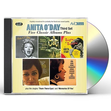 Anita O'Day 5 LPS-SWINGS COLE PORTER / AT MISTER KELLY'S CD
