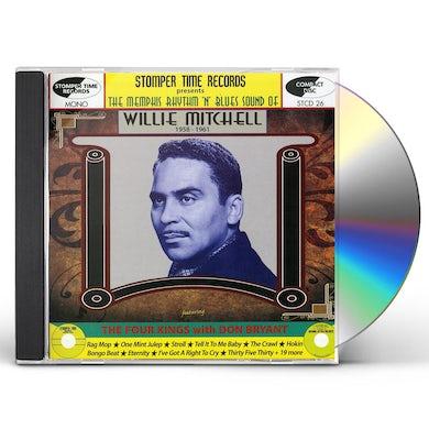 Willie Mitchell MEMPHIS RHYTHM N BLUES SOUND OF CD
