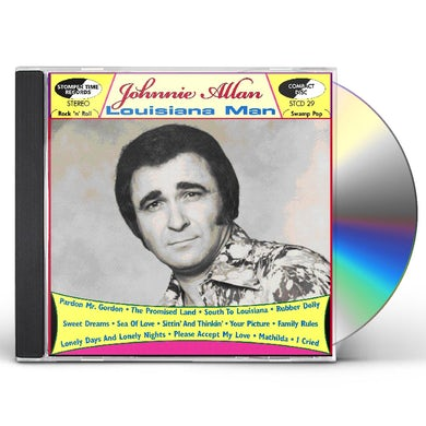 Johnnie Allan LOUISIANA MAN CD