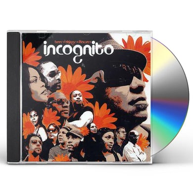 Incognito BEES THINGS & FLOWERS CD